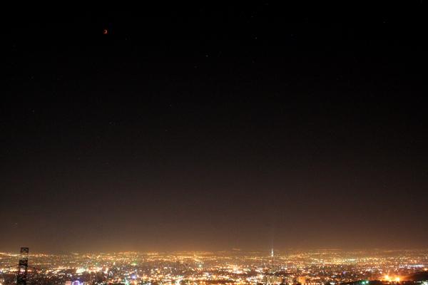 خسوف، پدیدهی نجومیای که یادآور آسمان ایران است